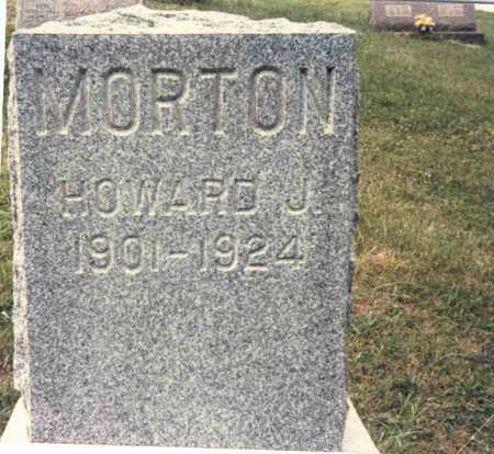 MORTON, HOWARD J. - Guernsey County, Ohio | HOWARD J. MORTON - Ohio Gravestone Photos