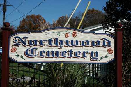 NORTHWOOD, CEMETERY - Guernsey County, Ohio | CEMETERY NORTHWOOD - Ohio Gravestone Photos