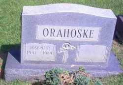 ORAHOSKE, JOSEPH PAUL - Guernsey County, Ohio | JOSEPH PAUL ORAHOSKE - Ohio Gravestone Photos