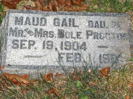 PROCTOR, MAUD - Guernsey County, Ohio | MAUD PROCTOR - Ohio Gravestone Photos