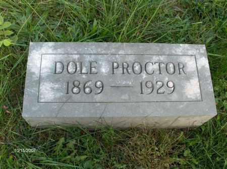 PROCTOR, VANDOLA - Guernsey County, Ohio | VANDOLA PROCTOR - Ohio Gravestone Photos