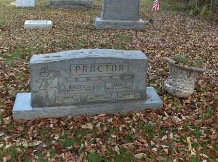 PROCTOR, WALTER ASBERRY - Guernsey County, Ohio | WALTER ASBERRY PROCTOR - Ohio Gravestone Photos
