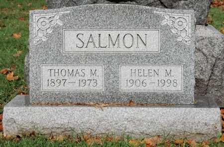 SALMON, THOMAS M. - Guernsey County, Ohio | THOMAS M. SALMON - Ohio Gravestone Photos