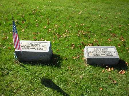 SAVIERS STEWART, MARY JANE - Guernsey County, Ohio | MARY JANE SAVIERS STEWART - Ohio Gravestone Photos