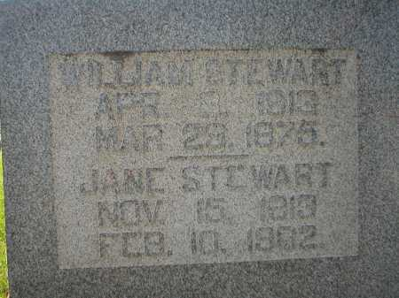 BURDEN STEWART, JANE - Guernsey County, Ohio | JANE BURDEN STEWART - Ohio Gravestone Photos