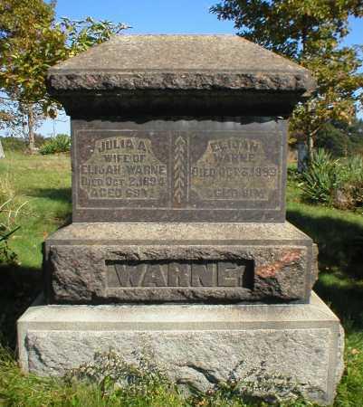 WARNE, JULIA - Guernsey County, Ohio | JULIA WARNE - Ohio Gravestone Photos