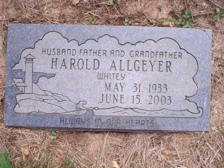 ALLGEYER, HAROLD - Hamilton County, Ohio   HAROLD ALLGEYER - Ohio Gravestone Photos