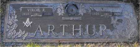 ARTHUR, MABEL - Hamilton County, Ohio | MABEL ARTHUR - Ohio Gravestone Photos