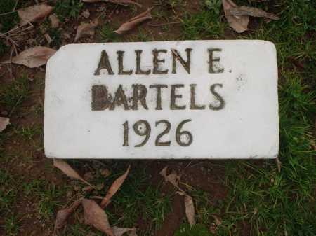 BARTELS, ALLEN E. - Hamilton County, Ohio   ALLEN E. BARTELS - Ohio Gravestone Photos