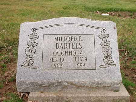 BARTELS, MILDRED E. - Hamilton County, Ohio   MILDRED E. BARTELS - Ohio Gravestone Photos