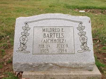 AICHHOLZ BARTELS, MILDRED E. - Hamilton County, Ohio | MILDRED E. AICHHOLZ BARTELS - Ohio Gravestone Photos