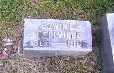 BELLVILLE, EDWIN  E - Hamilton County, Ohio | EDWIN  E BELLVILLE - Ohio Gravestone Photos