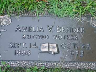 FISCHER BENDER, AMELIA - Hamilton County, Ohio | AMELIA FISCHER BENDER - Ohio Gravestone Photos