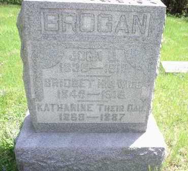BROGAN, KATHARINE - Hamilton County, Ohio | KATHARINE BROGAN - Ohio Gravestone Photos