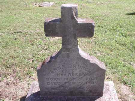 BUSAM BRUNCK, ANNA - Hamilton County, Ohio   ANNA BUSAM BRUNCK - Ohio Gravestone Photos