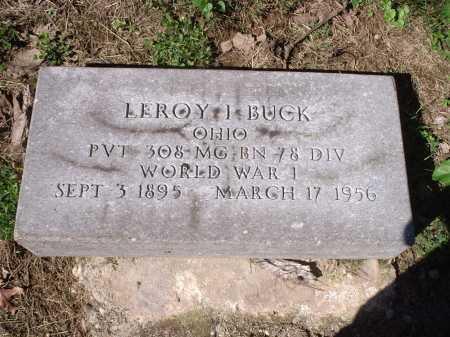 BUCK, LEROY I. - Hamilton County, Ohio | LEROY I. BUCK - Ohio Gravestone Photos