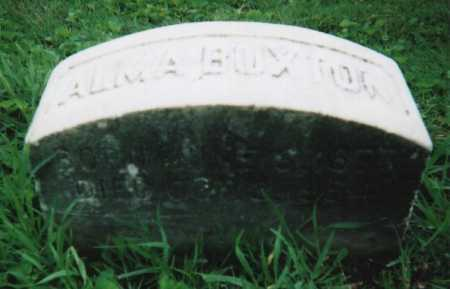 BUXTON, ALMA ESTELLA - Hamilton County, Ohio | ALMA ESTELLA BUXTON - Ohio Gravestone Photos