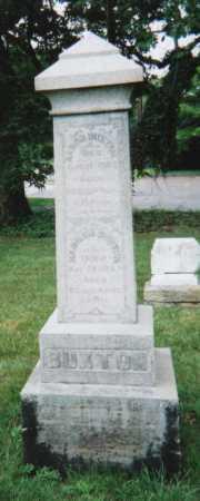 BUXTON, AARON - Hamilton County, Ohio   AARON BUXTON - Ohio Gravestone Photos