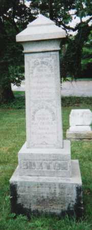 BUXTON, HANNAH - Hamilton County, Ohio | HANNAH BUXTON - Ohio Gravestone Photos