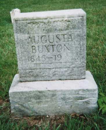 BUXTON, AUGUSTA - Hamilton County, Ohio   AUGUSTA BUXTON - Ohio Gravestone Photos