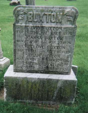 BUXTON, SUSAN - Hamilton County, Ohio | SUSAN BUXTON - Ohio Gravestone Photos
