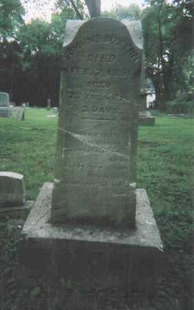BUXTON, EDMUND - Hamilton County, Ohio | EDMUND BUXTON - Ohio Gravestone Photos