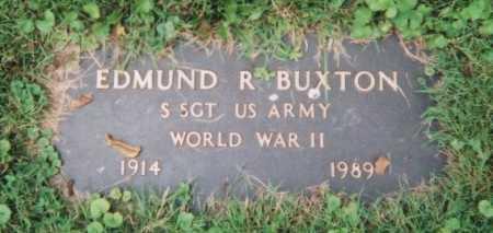 BUXTON, EDMUND R. - Hamilton County, Ohio | EDMUND R. BUXTON - Ohio Gravestone Photos
