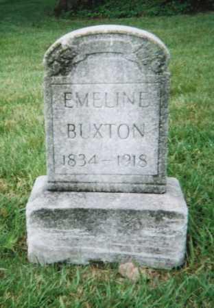 BUXTON, EMELINE - Hamilton County, Ohio | EMELINE BUXTON - Ohio Gravestone Photos