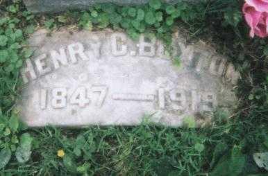 BUXTON, HENRY C. - Hamilton County, Ohio | HENRY C. BUXTON - Ohio Gravestone Photos