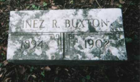 BUXTON, INEZ R. - Hamilton County, Ohio | INEZ R. BUXTON - Ohio Gravestone Photos