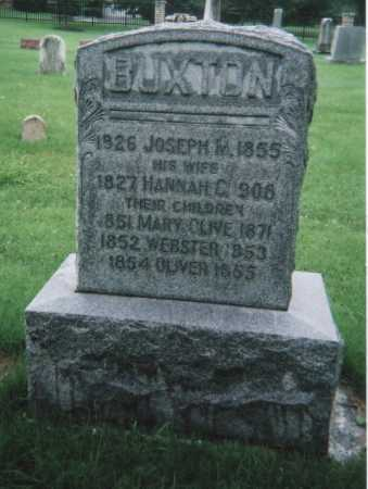 BUXTON, WEBSTER - Hamilton County, Ohio | WEBSTER BUXTON - Ohio Gravestone Photos