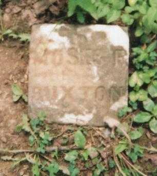 BUXTON, MOSES - Hamilton County, Ohio   MOSES BUXTON - Ohio Gravestone Photos