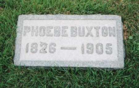 BUXTON, PHOEBE ANN - Hamilton County, Ohio | PHOEBE ANN BUXTON - Ohio Gravestone Photos