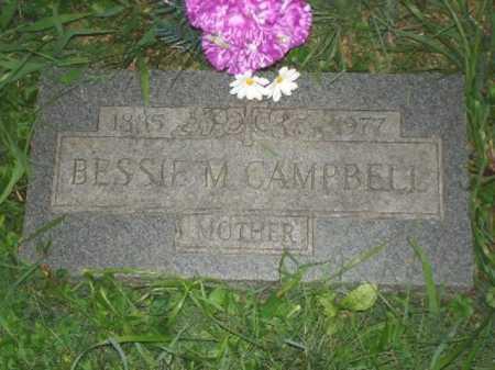 CAMPBELL, BESSIE M. - Hamilton County, Ohio | BESSIE M. CAMPBELL - Ohio Gravestone Photos