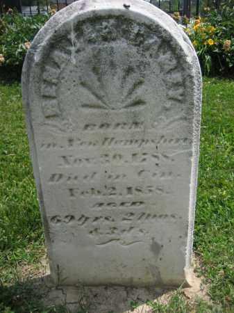 CAREY, BENAJAH - Hamilton County, Ohio   BENAJAH CAREY - Ohio Gravestone Photos