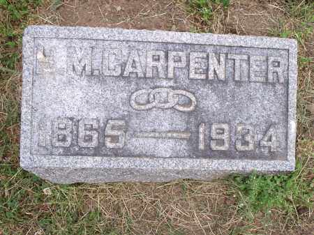CARPENTER, HOWARD MILES - Hamilton County, Ohio | HOWARD MILES CARPENTER - Ohio Gravestone Photos
