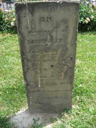 CARY, MISSOURI - Hamilton County, Ohio | MISSOURI CARY - Ohio Gravestone Photos