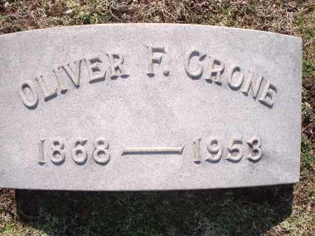 CRONE, OLIVER - Hamilton County, Ohio | OLIVER CRONE - Ohio Gravestone Photos