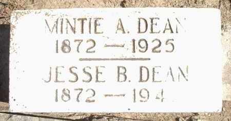 DEAN, MINTIE A. - Hamilton County, Ohio | MINTIE A. DEAN - Ohio Gravestone Photos