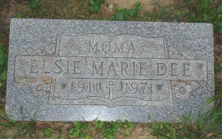 MARIE DEE, ELSIE - Hamilton County, Ohio | ELSIE MARIE DEE - Ohio Gravestone Photos