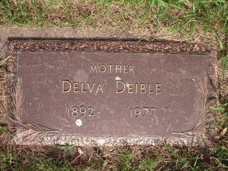 DEIBLE, DELVA - Hamilton County, Ohio | DELVA DEIBLE - Ohio Gravestone Photos