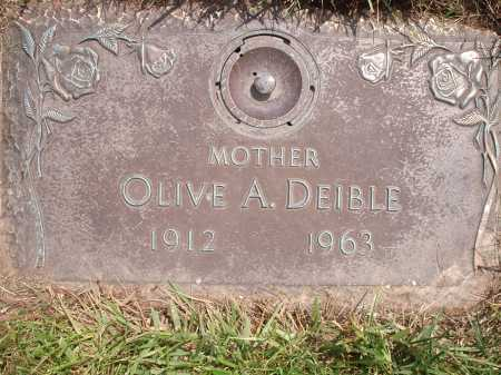 SPURLING DEIBLE, OLIVE A. - Hamilton County, Ohio | OLIVE A. SPURLING DEIBLE - Ohio Gravestone Photos