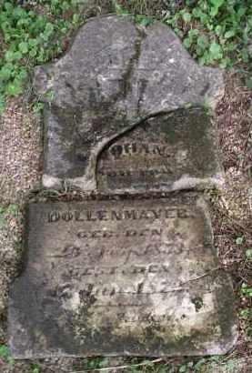 DOLLENMAYER, JOHAN - Hamilton County, Ohio | JOHAN DOLLENMAYER - Ohio Gravestone Photos