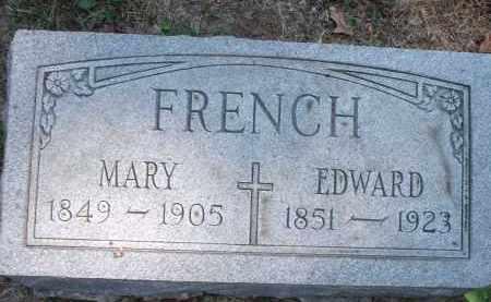 FRENCH, MARY - Hamilton County, Ohio | MARY FRENCH - Ohio Gravestone Photos