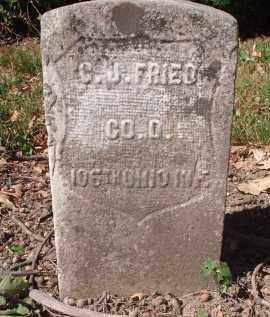 FRIED, C.J. - Hamilton County, Ohio | C.J. FRIED - Ohio Gravestone Photos