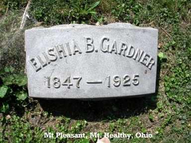 GARDNER, ELISHIA - Hamilton County, Ohio | ELISHIA GARDNER - Ohio Gravestone Photos