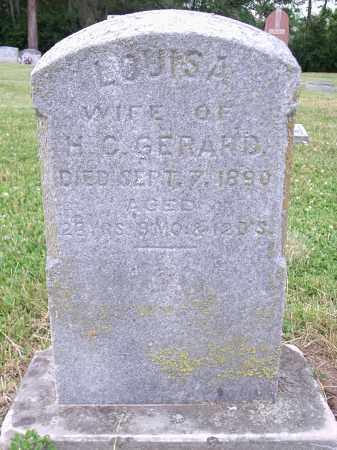 GERARD, LOUISA - Hamilton County, Ohio | LOUISA GERARD - Ohio Gravestone Photos