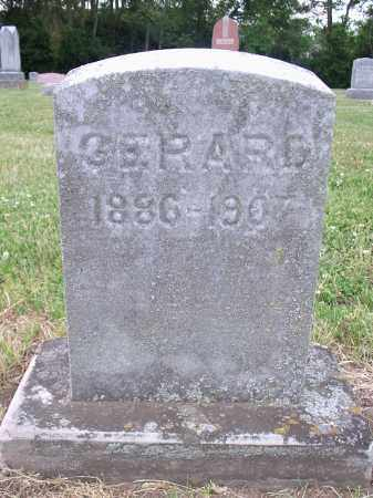 GERARD, MILTON F. - Hamilton County, Ohio   MILTON F. GERARD - Ohio Gravestone Photos