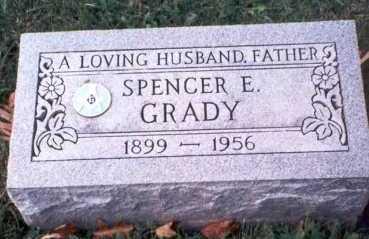 GRADY, SPENCER E. - Hamilton County, Ohio | SPENCER E. GRADY - Ohio Gravestone Photos
