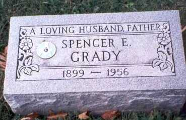 GRADY, SPENCER E. - Hamilton County, Ohio | SPENCER E. GRADY - Ohio Gravestone Photos